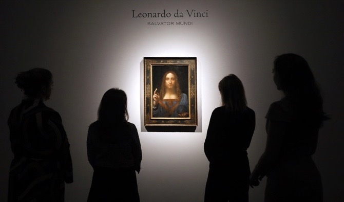 $450m Da Vinci painting bound for Louvre Abu Dhabi