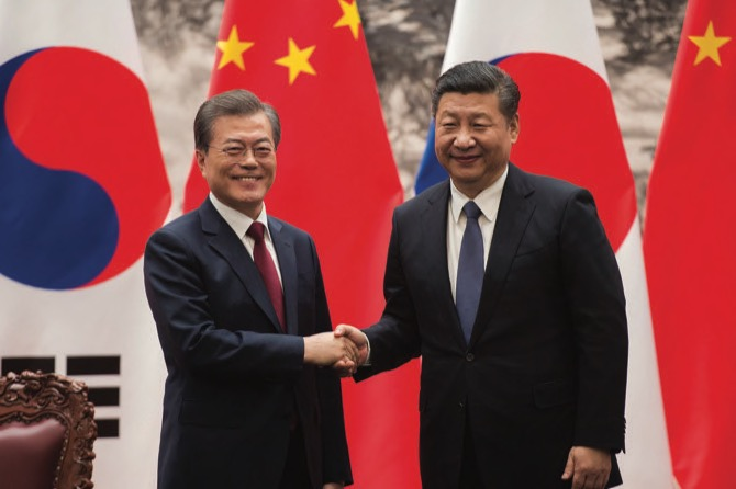 S. Korean president heads to Chongqing as part of China trip