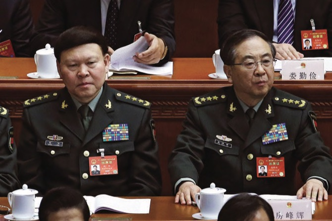 China to prosecute senior military officer on suspicion of bribery