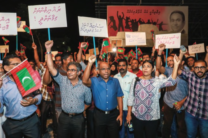'All-out assault on democracy' in Maldives: UN Rights Chief