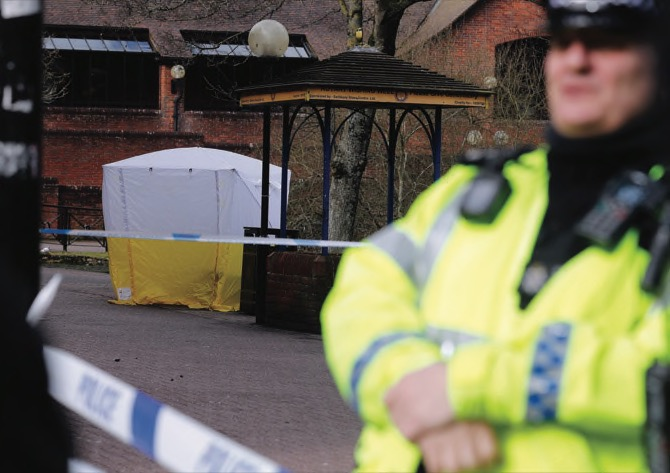 Former Russian spy critically ill after exposure to 'unknown substance'