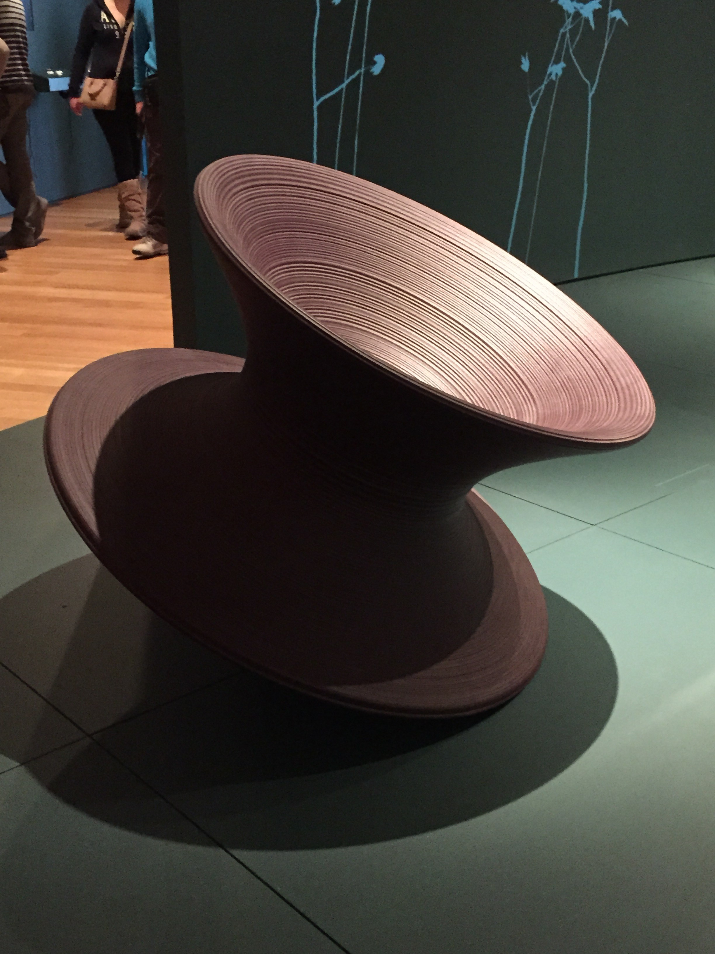Heatherwick Chair Thomas Heatherwicks Spun Chair The Arts In New York City