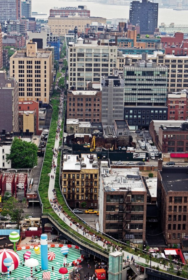 Highline Nyc Public Spaces