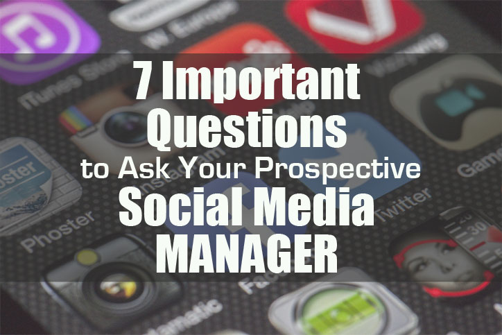 Seven important questions to ask your prospective social media manager - Macaulay Gidado