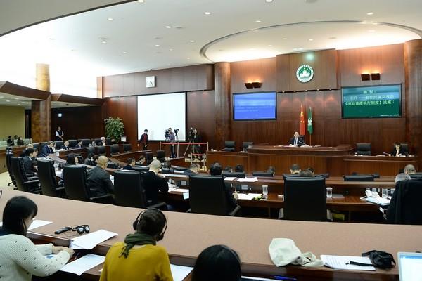 Macau lawmakers give green light to asset freeze bill