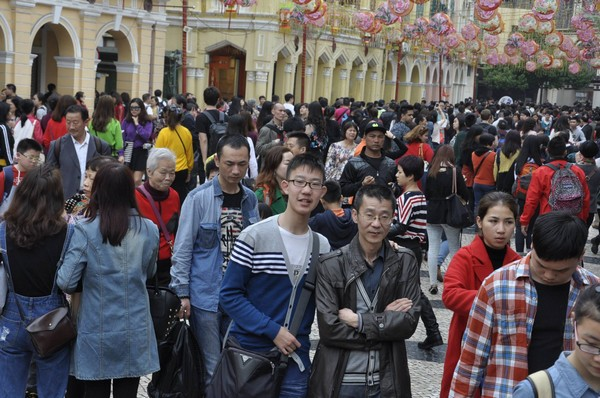 Macau's growing population