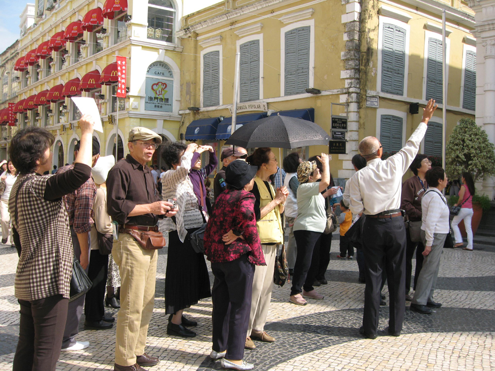 Macau received 2 million visitors in January