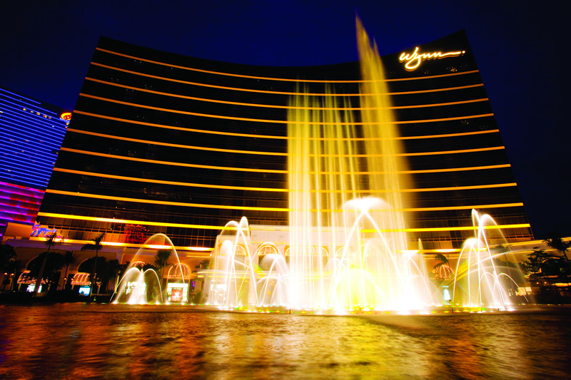 Wynn Macau revenue drops 13.8 per cent in Q1