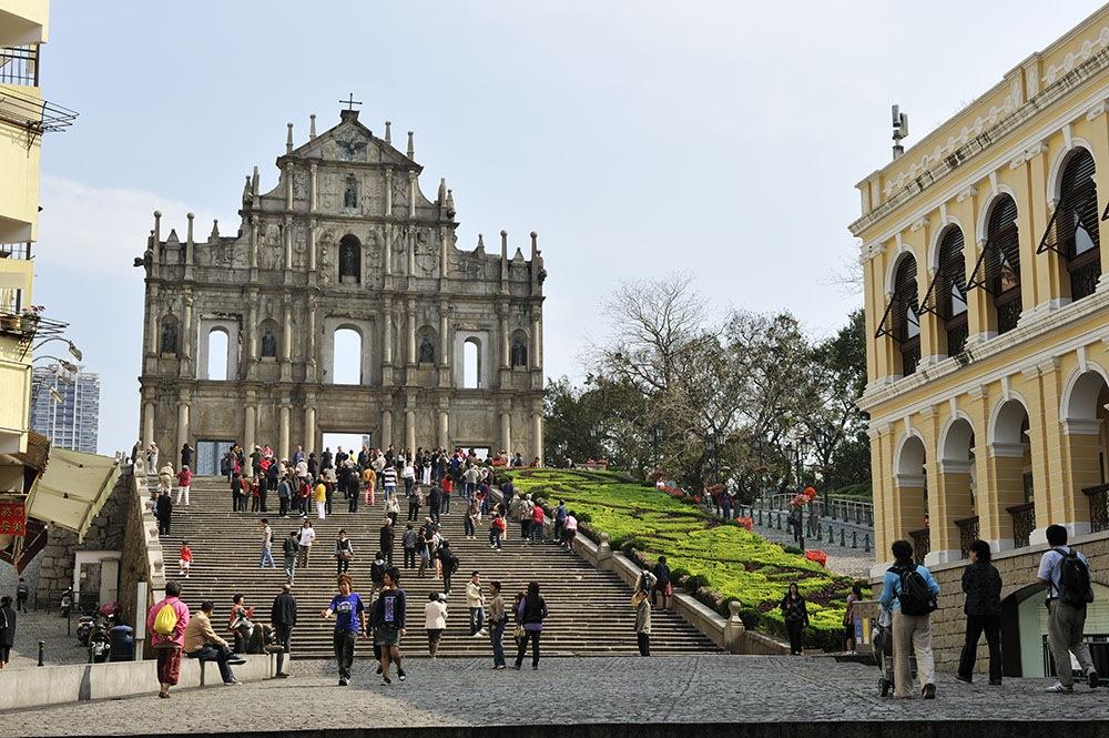 Visitor arrivals in Macau down 2.8 per cent