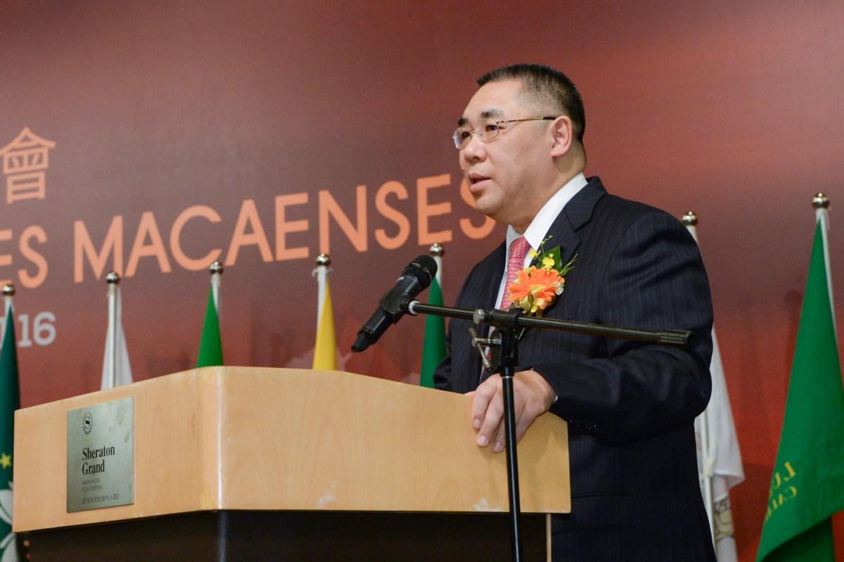 Chui praises Macanese community