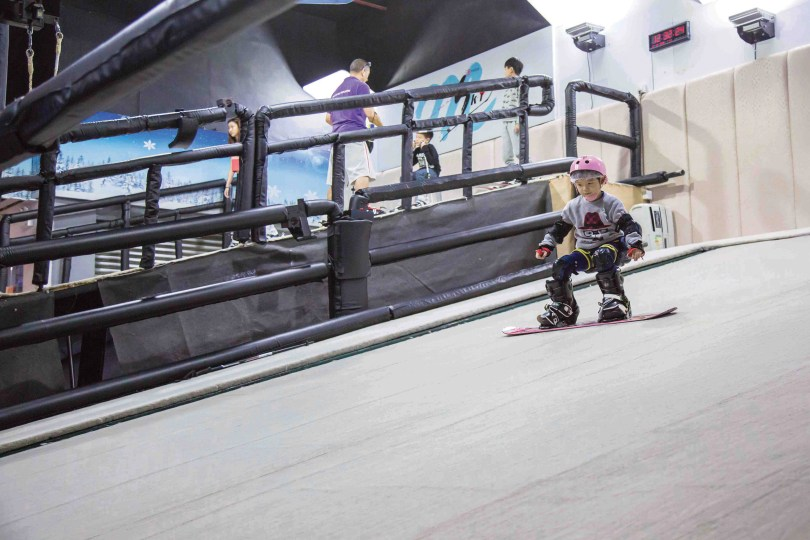 Macau ski and snowboard school