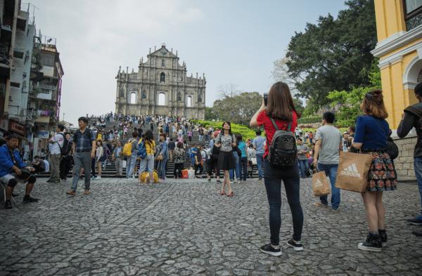 Macau Receives 15.5 Million Visitors In