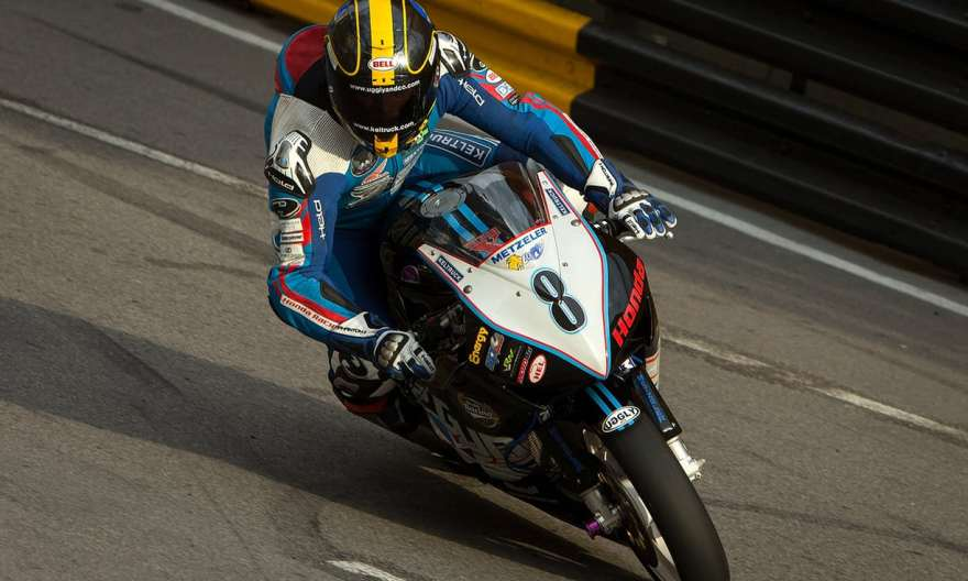 Macau Grand Prix Daniel Hegarty