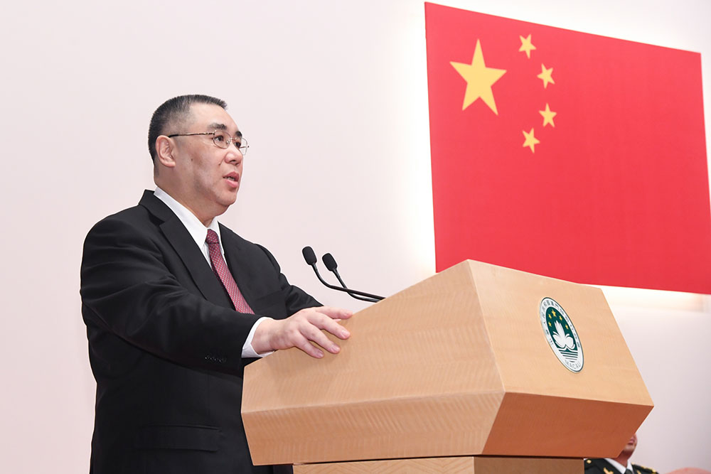 Macau to support  Greater Bay Area, said Chief Executive