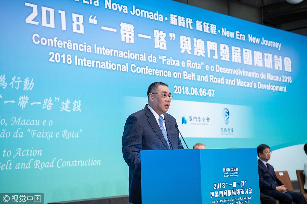 Macau to continue striving for sustained development: chief executive
