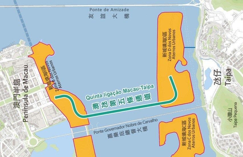 Environmental impact of an underwater tunnel between Macau and Taipa in public consultation