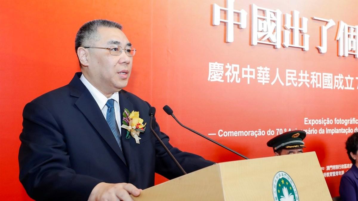 Chui praises 'great revolutionary' Mao Zedong