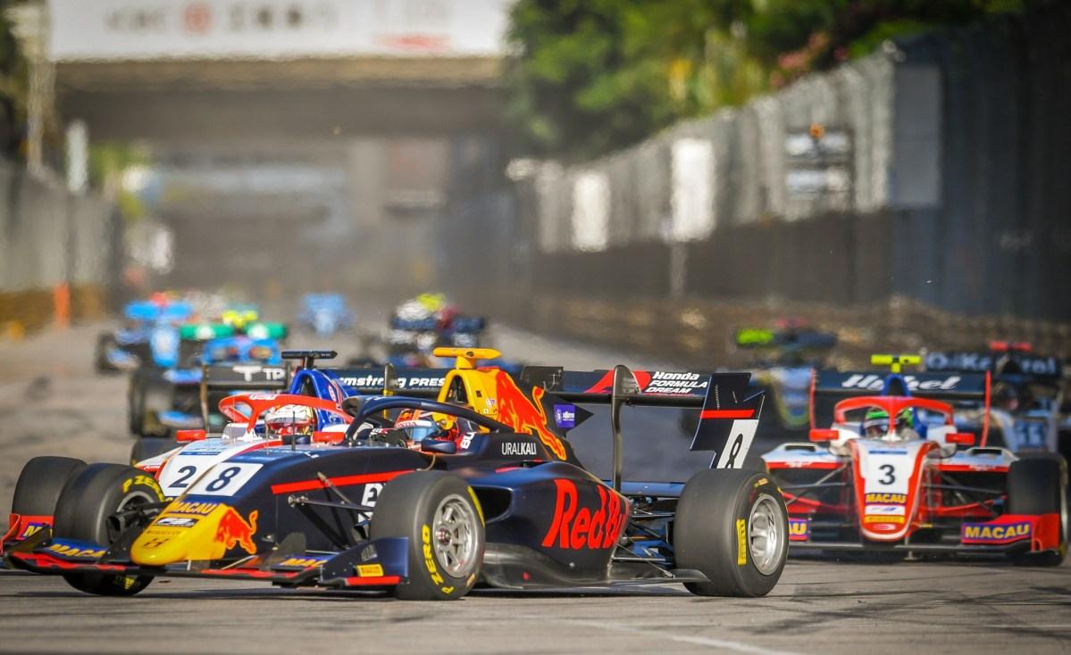 Dutch Richard Verschoor wins 2019 Macau F3 Grand Prix