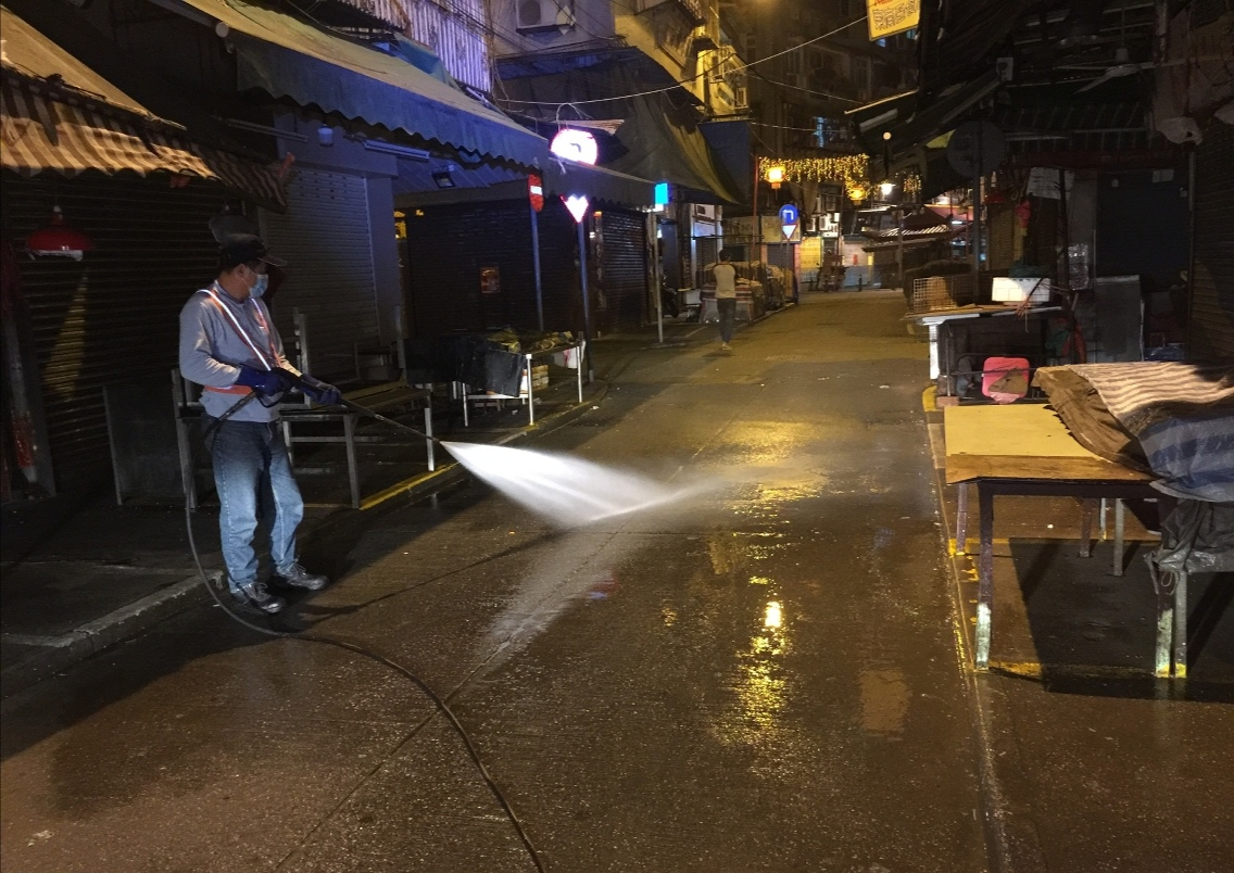 IAM intensifies public area cleaning to fight COVID-19