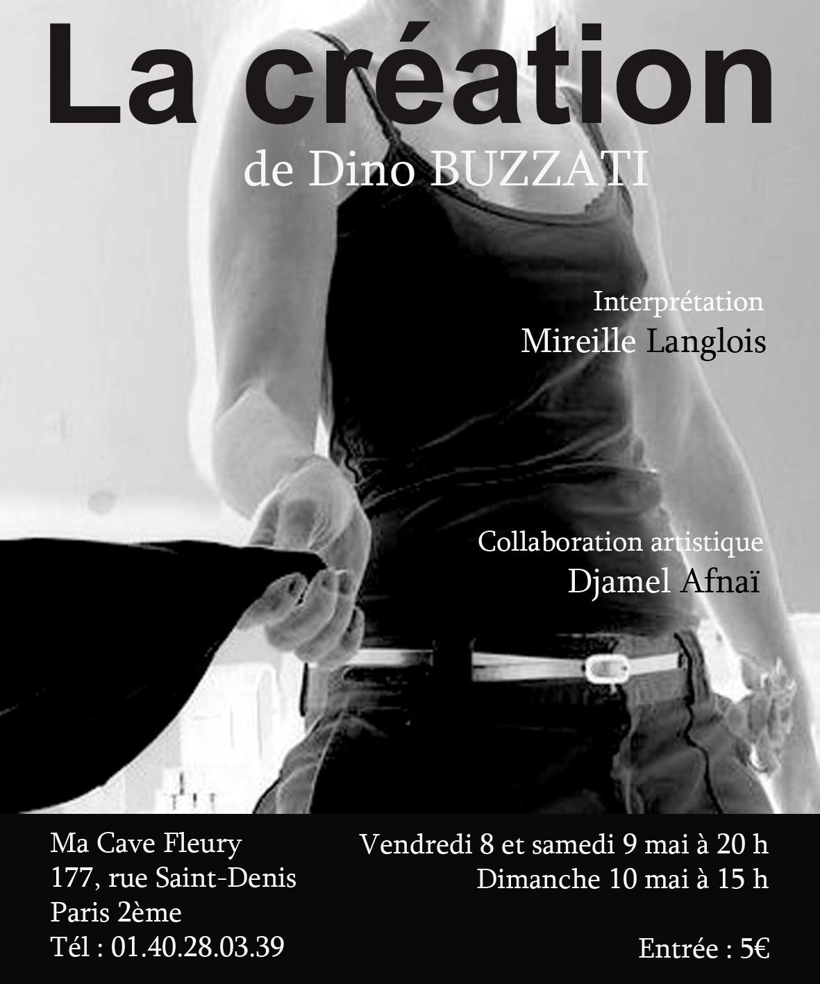 La Création avec Mireille Langlois
