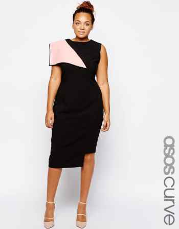 Asos Curve Cocktail Dress