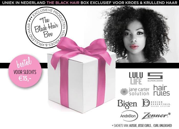 Black Hair Box