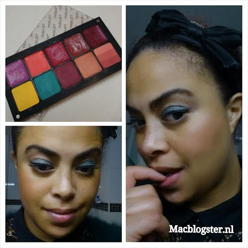 Look of the day: INGLOT Freedom System Palette