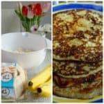 Pannenkoeken maken met banaan & ei, zonder melk & bloem