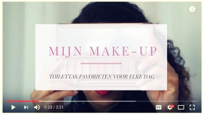 De inhoud van mijn make-up bag