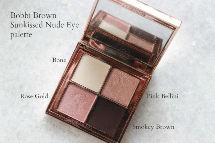 Bobbi Brown Sunkissed Nude Eye Palette