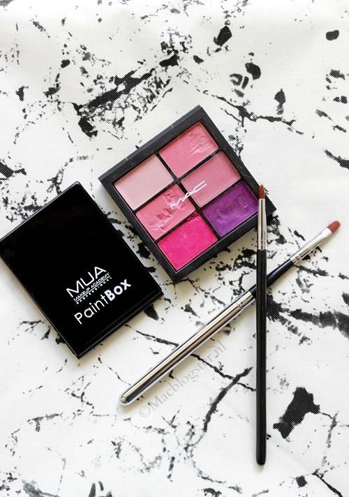 MUA Paint Box Rose Rouge