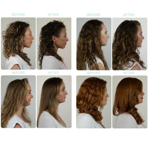 Before & After foto's Inverse conditioning system