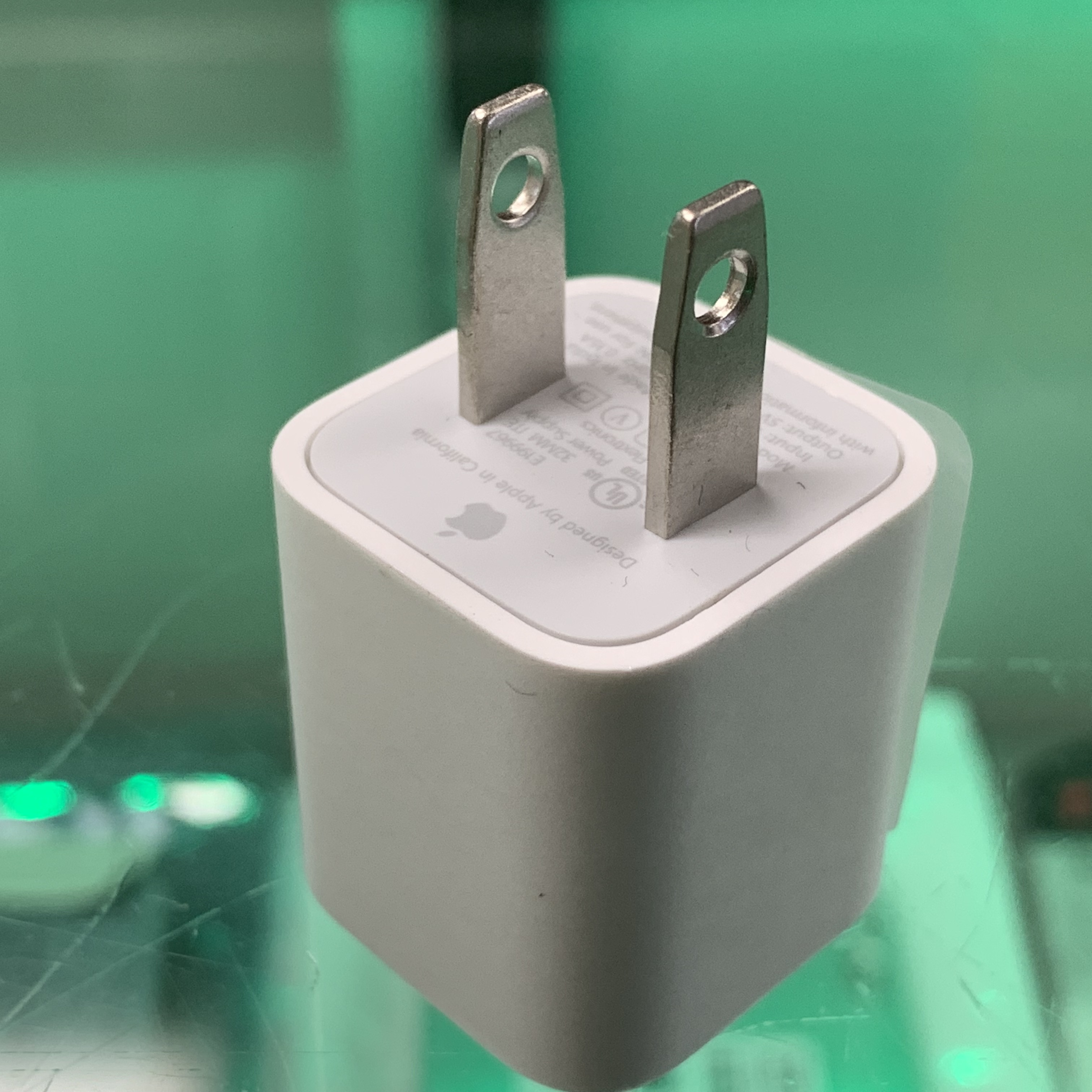 Genuine Apple iPhone 5W Watt USB Power Charger Adapter for iPhone A1385   MacBlowouts