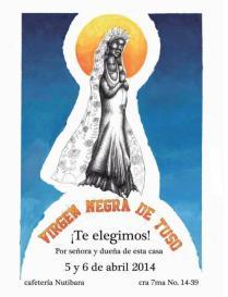 La virgen de Tuso, 6 Carteles - Impresión litográfica -140cms x 150cms - 2014