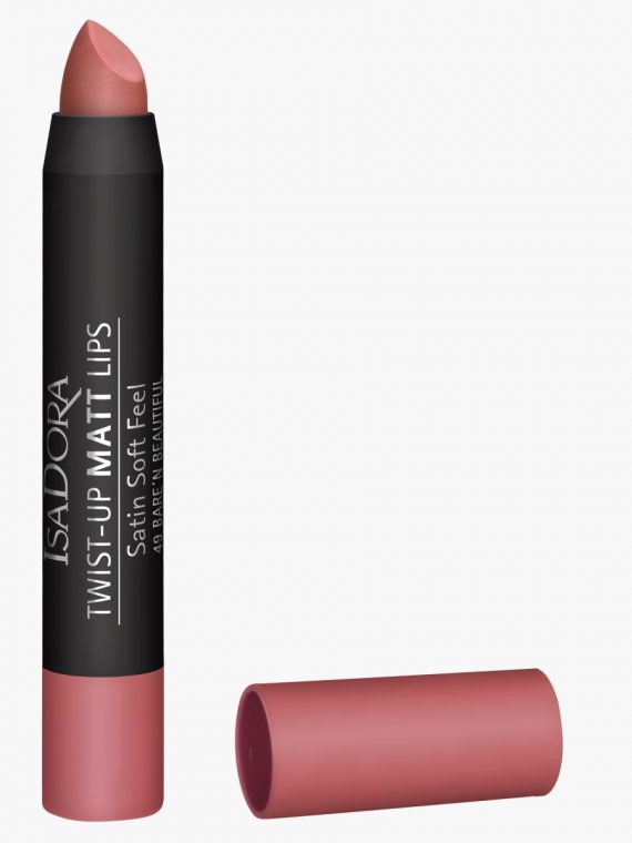 IsaDora Twist-Up Matt Lips - new