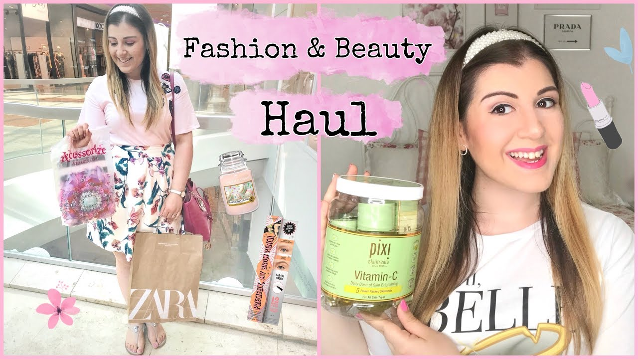 Fashion & Beauty Haul!💖Zara, Mac, Accessorize…
