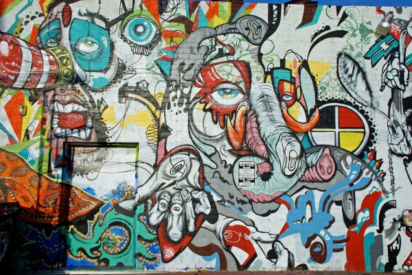 Urban Art Thriving - Downtown Phoenix