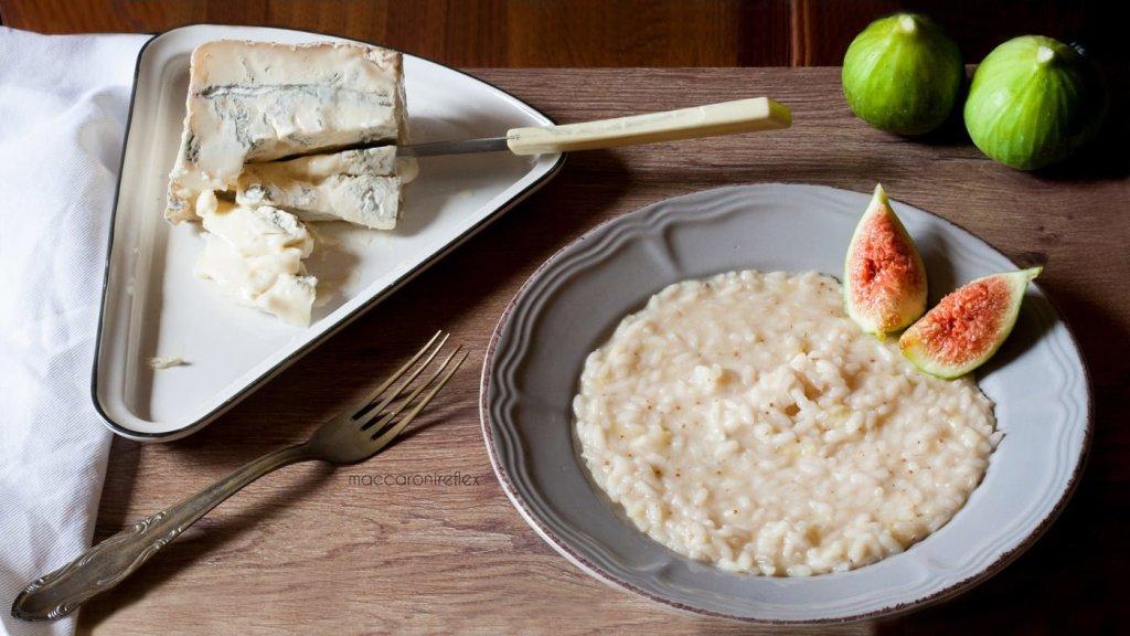 Risotto ai fichi e gorgonzola ricetta facile
