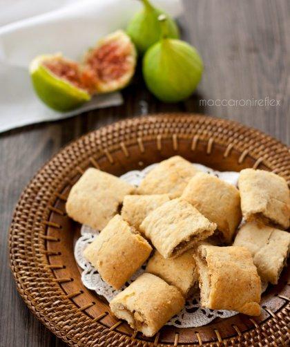 Biscotti morbidi con fichi freschi o settembrini: ricetta