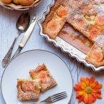 Clafoutis alle albicocche - con albicocche fresche