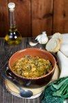 Ribollita, zucca toscana di cavolo nero