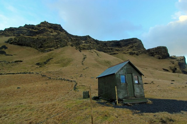 A solitary cabin
