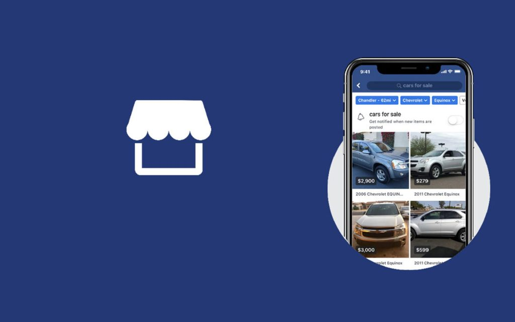 facebook marketplace on ipad