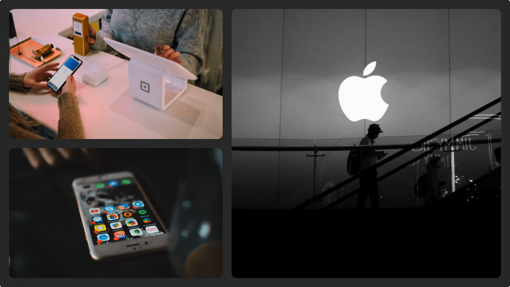 Apple fake 1 collage