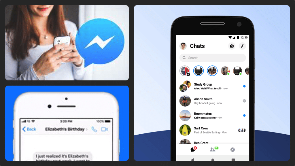 Setting up a Group Chat on Facebook Messenger is easy