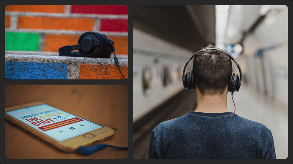 Audible collage 2