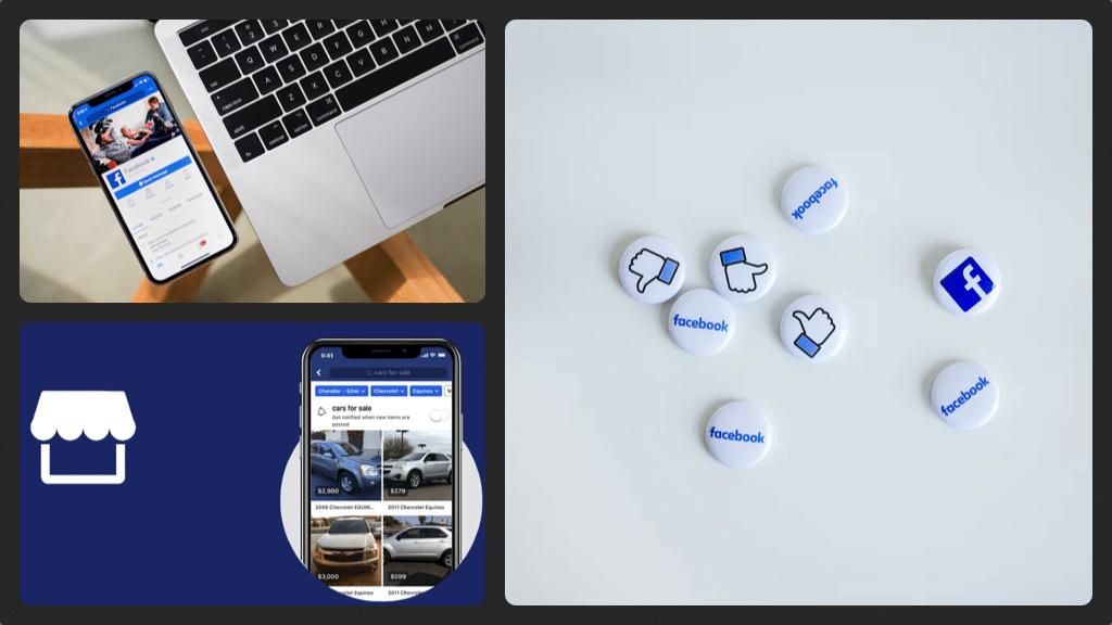 Facebook MArketplace collage
