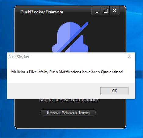 Stop Push Notifications Chrome