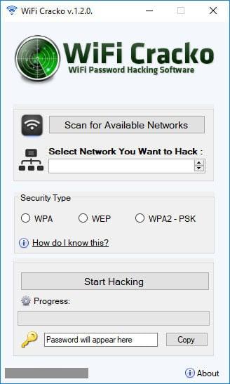 WiFi Cracko Hack Tool
