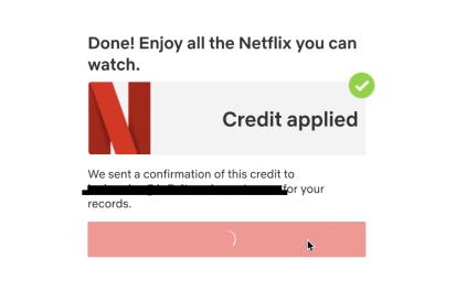 1 Year Netflix free 1